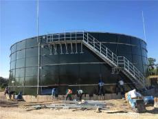 大型沼氣設備搪瓷拼裝存儲罐厭氧罐