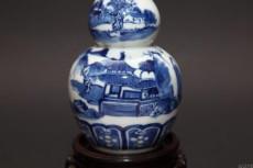 清青花葫芦瓶拍卖交易地点