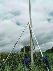 電力施工三角架電線桿機 三角立桿機水泥立