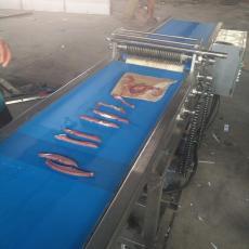 连续式鲜肉切条机 鸡肉切条机价格 鸡肉鸭肉