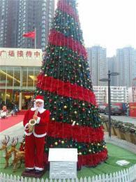 鄭州紅日專業生產定制各種戶外大型圣誕樹