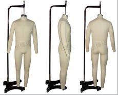 歐版人體立裁模特歐洲人體試衣模特