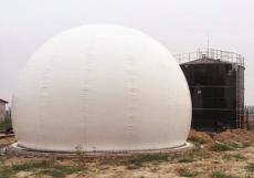 沼气设备膜式沼气存储柜