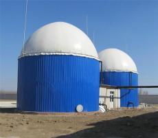沼气工程一体化搪瓷厌氧罐及双膜气柜