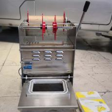 冷鲜肉托盘封膜机塑料盒封口帝幸好