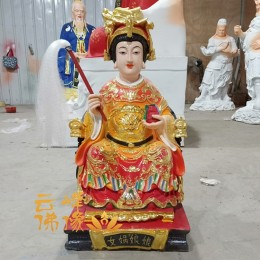 女娲娘娘神像生产厂家报价九子娘娘佛像图片