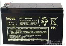 KOBE蓄电池HF4-12/12V4AH厂家代理报价