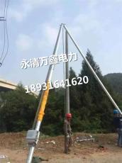 铝合金框架式抱杆内悬浮铝合金抱杆生产厂家