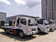 蚌埠市东风清障车配置小型平板道路救援车