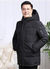 冬款应季羽绒服男装外套保暖御寒羽绒服批发