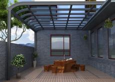 佛山盛佰惠门窗铝合金遮阳雨棚