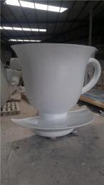 深圳酒店餐厅宣传玻璃钢奶茶杯雕塑批发厂家