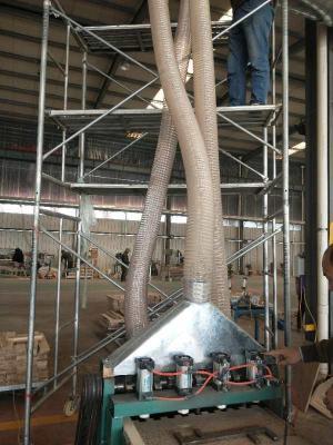 木工机械吸尘钢丝PU缠绕管镀铜钢丝风管