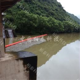 十堰水电站拦污浮体垃圾拦截装置