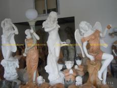 酒店玻璃钢欧式女人雕像西方人物雕塑厂家