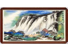 斗彩瓷板畫的拍賣價格多高