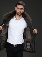L-3XL冬季男装外套羽绒服棉服棉衣批发