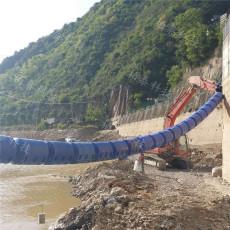 水電站庫區進水口攔漂排垃圾攔截裝置