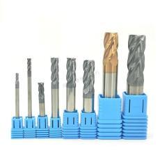 55度4刃钨钢铣刀 硬质合金  数控刀具