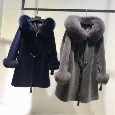 A9服裝公司長期供應女裝羊絨大衣羊剪絨大衣