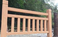 T818仿木河道护栏模具