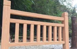 大成模具仿木窗棂护栏模具