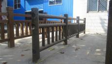 仿树皮梯形护栏模具