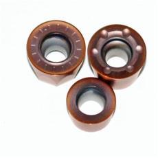 硬质合金PVD棕色涂层QT6500RDKW1204MO刀片