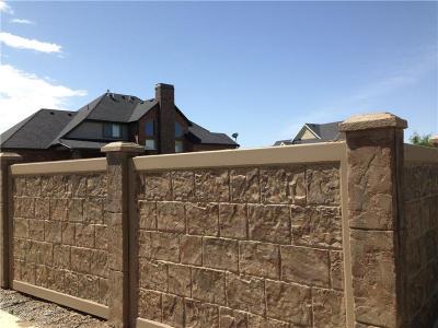 预制建筑围墙 别墅围墙 市政工程围墙模具