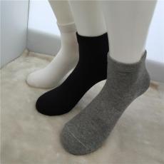 步滩新款精梳紧密纺低腰短筒男式抗菌袜