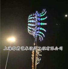夜景灯饰风动雕塑价格304不锈钢摆件