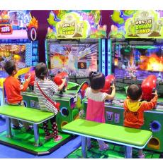 广州滚塑 投币游戏机 儿童电玩设备厂家批发