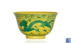 明嘉靖黄釉杯拍卖市场如何