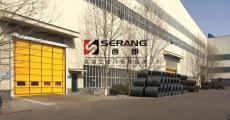 上海大型柔性堆积门 抗风堆积门厂家