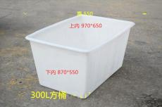 塑料方箱厂家 长方形水箱 化工食品周转箱