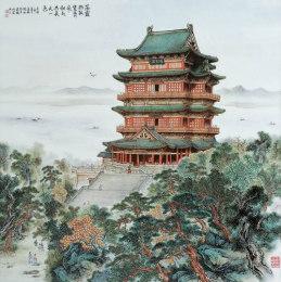 2018年李春敏瓷板画如何鉴别