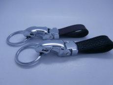 石家莊真皮鑰匙扣制作車標皮質鑰匙扣廠家