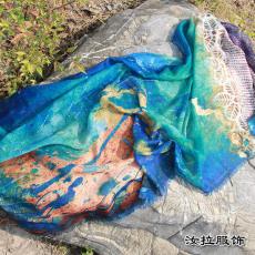 围巾定制加工 围巾定做 个性化定制浙江围巾