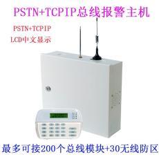 IP網絡總線防盜報警控制主機