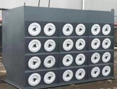 山西鞋厂定制十二根滤筒除尘器