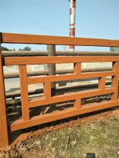 江西萍乡仿木纹栏杆厂家批发 新余仿木护栏