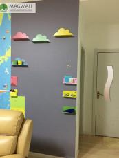 磁善家磁性吸附可擦写儿童卡通磁性静灰墙贴
