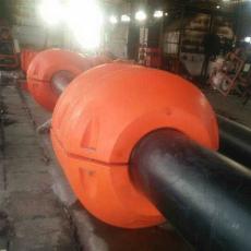 抽沙管浮桶聚乙烯管线浮子详情