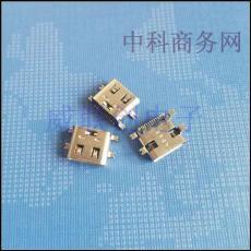 大电流USB 3.1 TYPE C母座 四脚全贴片 16P