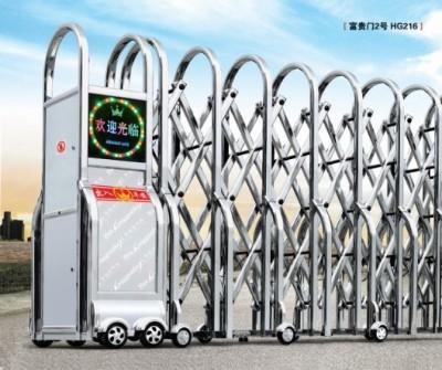 茂名伸缩门 只要三百元一米 茂名不锈钢伸缩