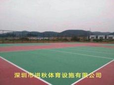广西硅pu篮球场 塑胶球场施工工艺及价格