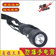BAD206北京消防防爆鋁合金LED小手電筒