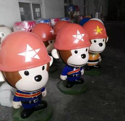 深圳卡通动漫蜡笔小新儿童游乐园雕塑价格