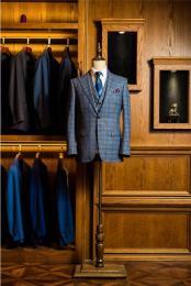 成都男士婚礼新郎礼服定制成都男士短款礼服