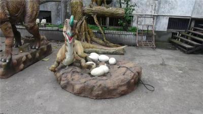 河池来图订做仿真动物恐龙雕塑厂家